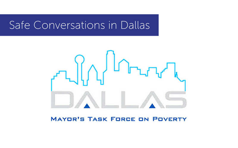 Safe Conversations at the Mayor's Task Force on Poverty