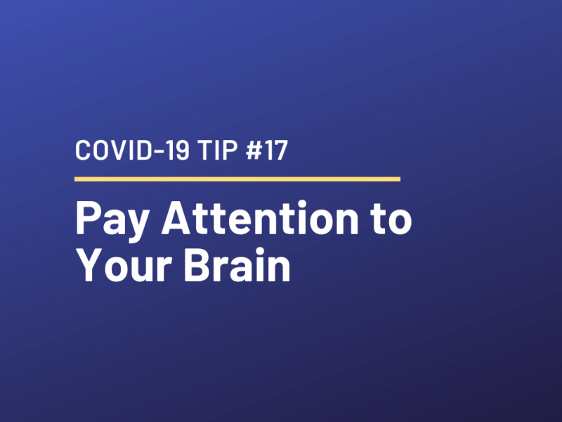 COVID-19 Relationship Tip #17