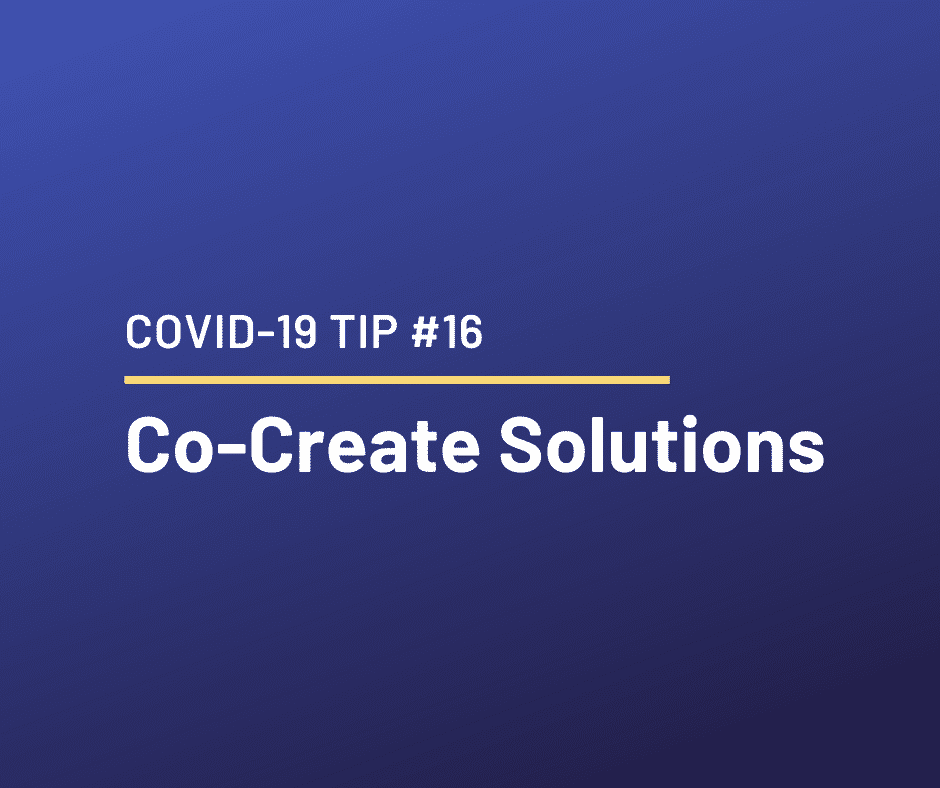 COVID-19 Relationship Tip #16